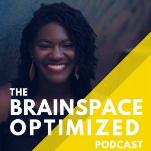 brainspace optimized blue and yellow podcast cover art